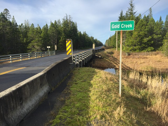 Gold Creek Bridge (Being Replaced)