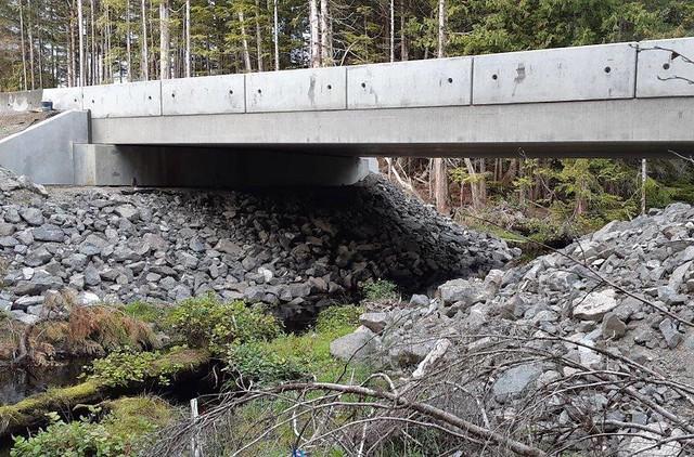 Geikie-Creek Bridge No. 2 - Built in 2019