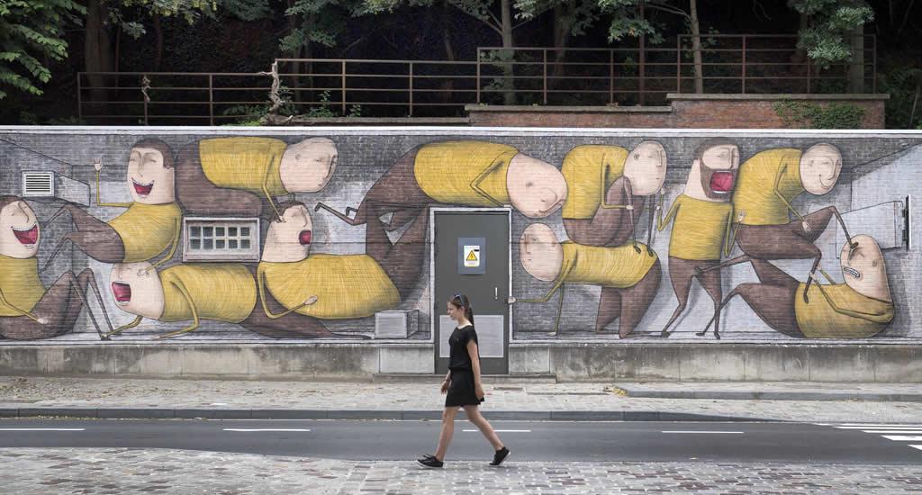 Street art in Leuven | Mooistestedentrips.nl