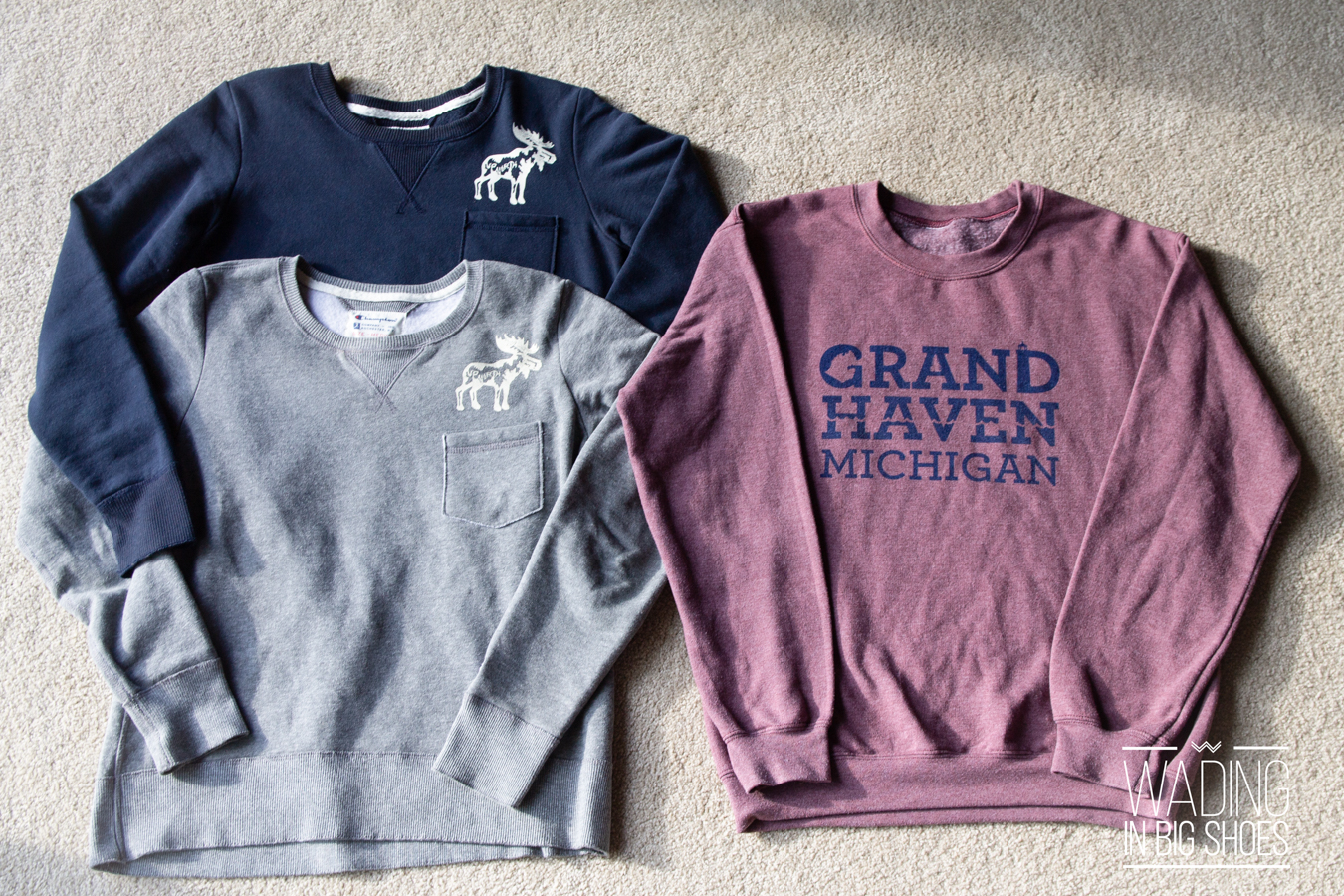 Wading in Big Shoes-Local Fashion Love: My (Mostly Detroit) Michigan T-Shirt Collection