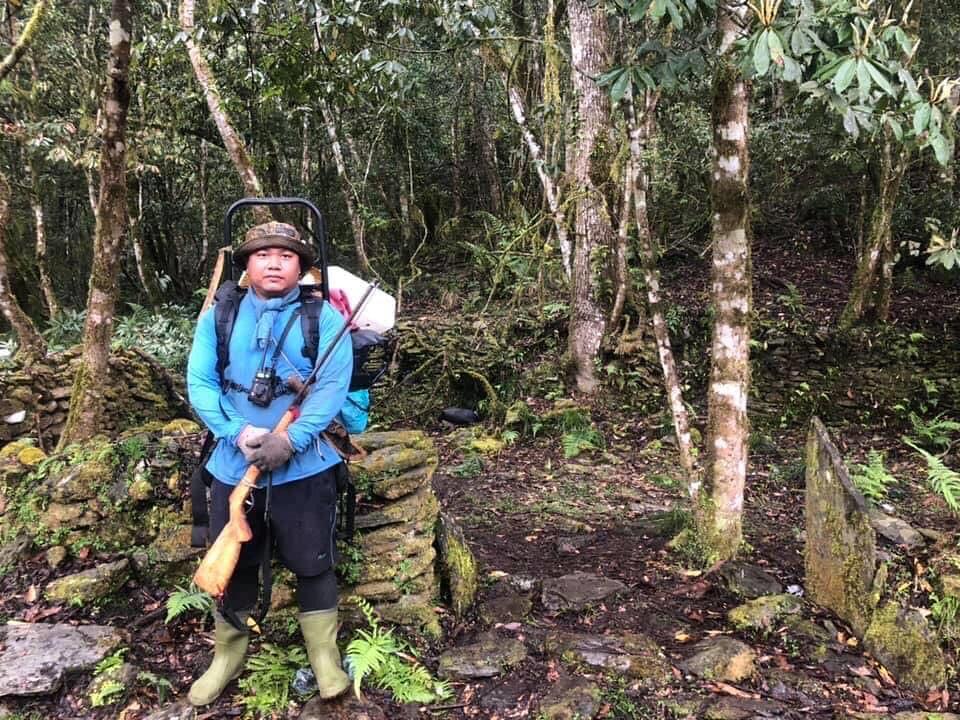 大一那年,和阿公上山的狩獵經驗,讓他一步步渴望理解、布農文化。