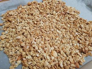 Macadamia Yoghurt Granola