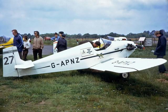 G-APNZ   Rollason D.31 Turbulent [PFA 482] Dunkeswell~G @ 26/05/1975