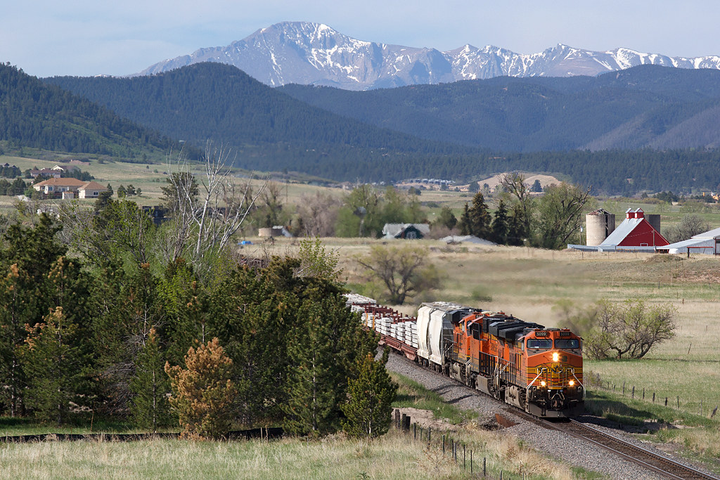 BNSF 5099 Castle Rock 23 May 20