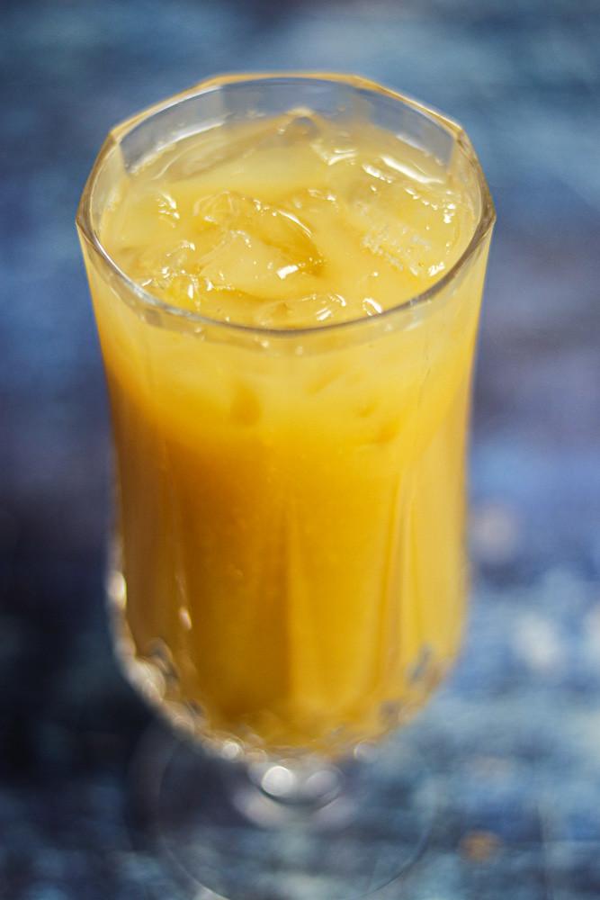 Zero Waste Mango Lemonade