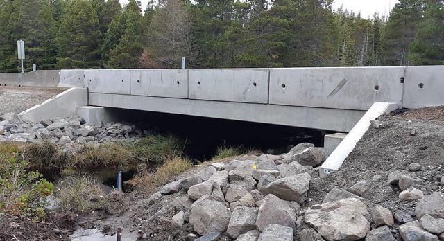 Geikie Creek Bridge No. 3 - Built in 2019