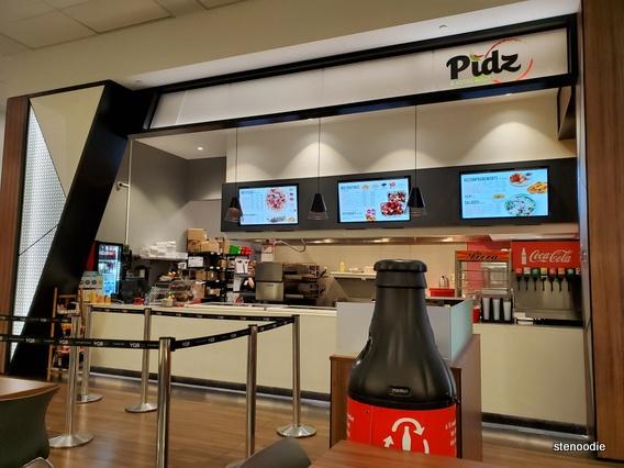 Pidz Restaurant storefront