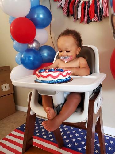 Grayson Seattle Washington 1st Birthday
