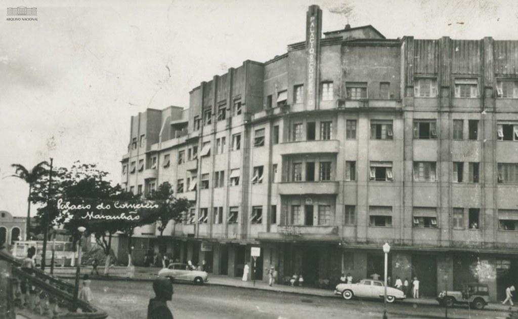 Palácio do Comércio, São Luís (MA), anos 1960