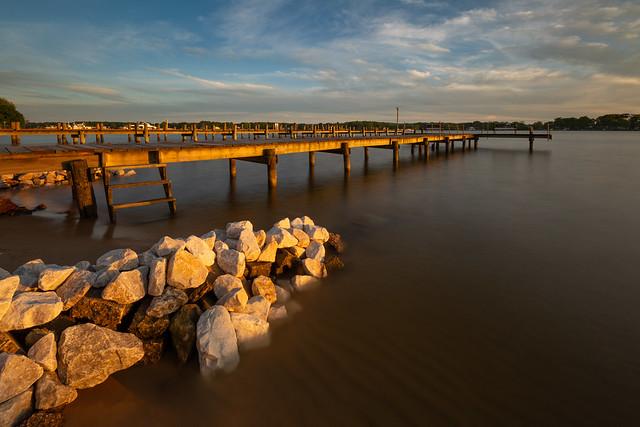 Golden Rocks & Pier