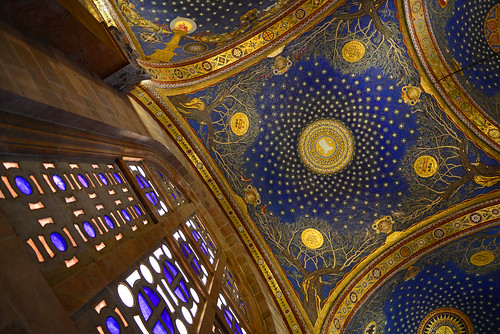 church israel jerusalem ceiling gethsaemane window d800 nikon valley kidron mount olives