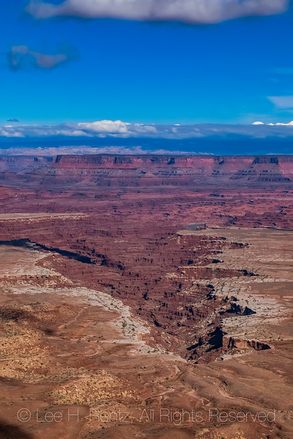 View from Buck Canyon Overlook in Canyonlands National Park