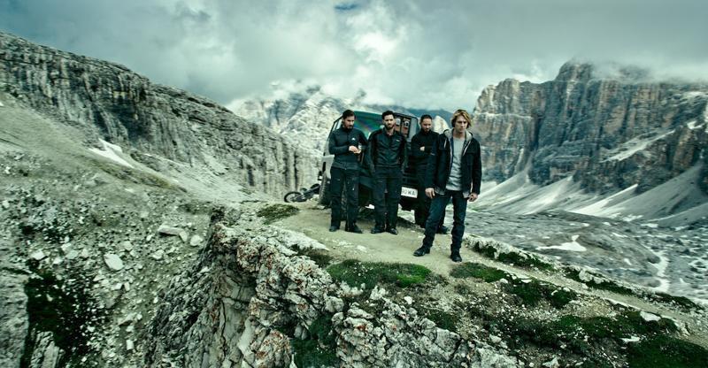 Rodando en los Dolomitas