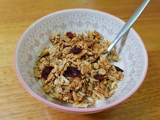 Maple Cinnamon Granola