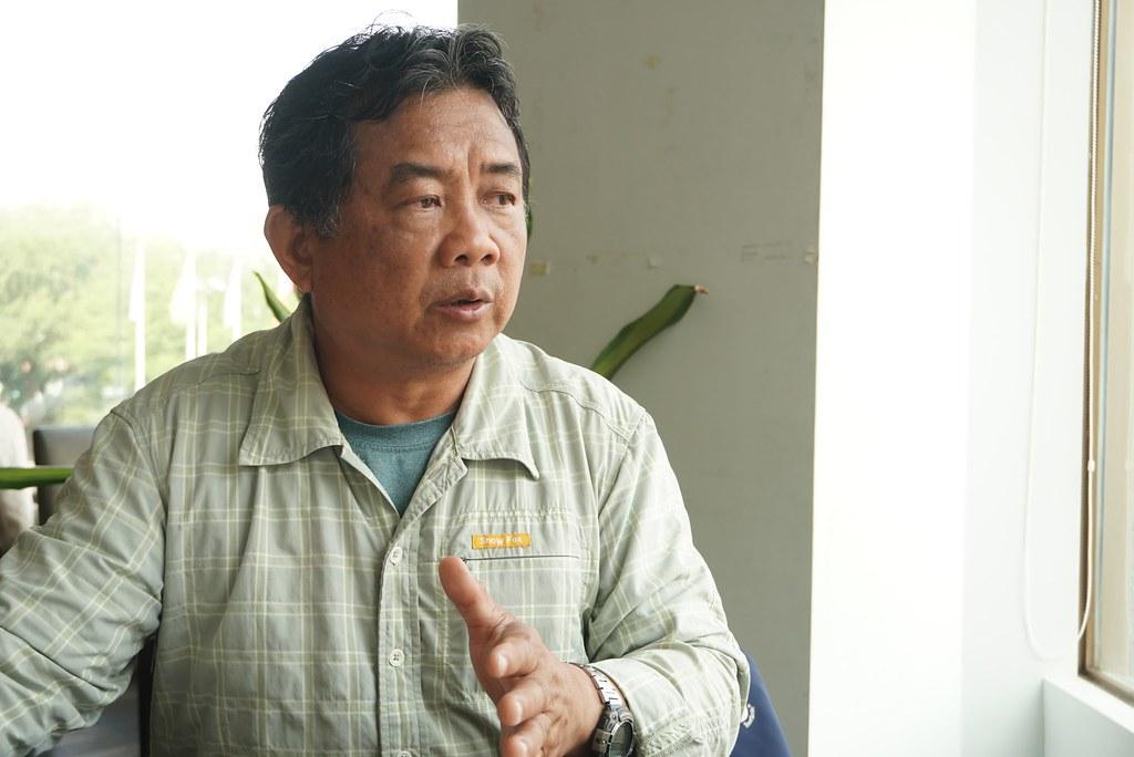 吳仁邦/台南社區大學環境行動小組研究員(攝影:王章逸)