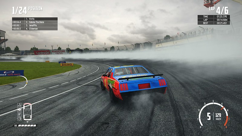 Wreckfest - Smoke Effects