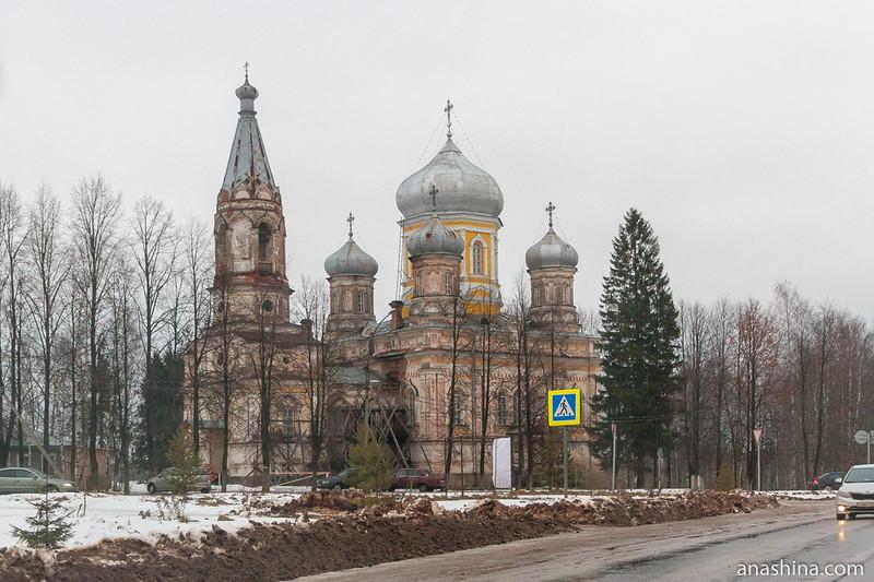 Церковь Сретения Господня на Красной горке, Вытегра