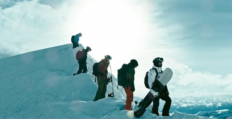 Snowboarding in Italy