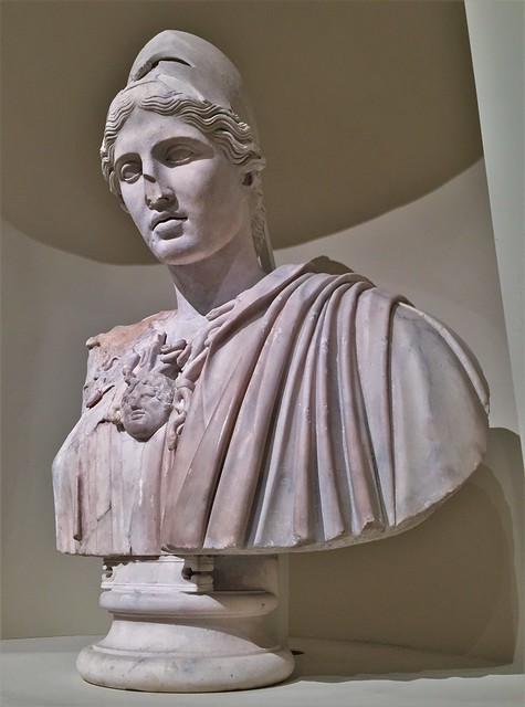 The Lansdowne Bust Of Athena Of Velletri  [replica]