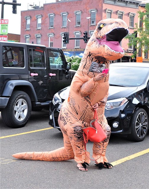 Yes Virginia, T-Rex does have a red purse