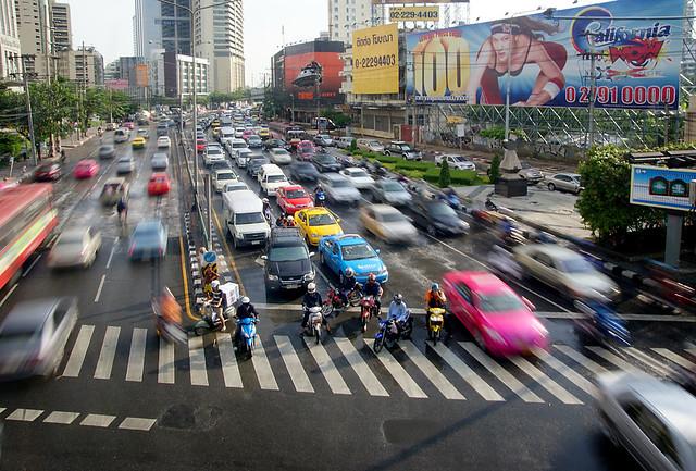 Busy Bangkok.