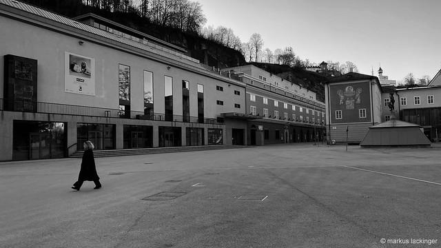 Salzburg - Haus für Mozart & Festspielhaus - Corona Lockdown