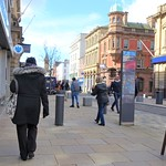 Social distancing at Fishergate, Preston
