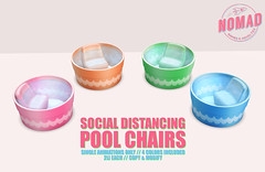 NOMAD // Social Distancing Pool Chairs FLF