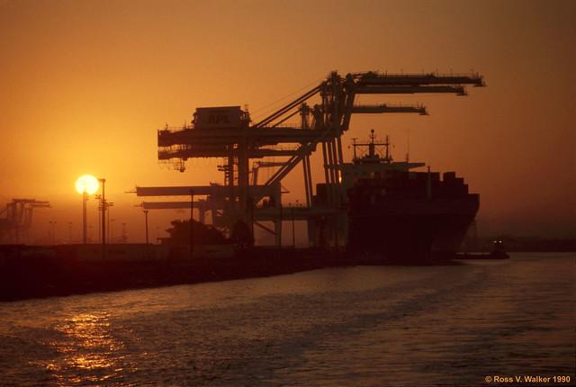 Port of Oakland Sunrise