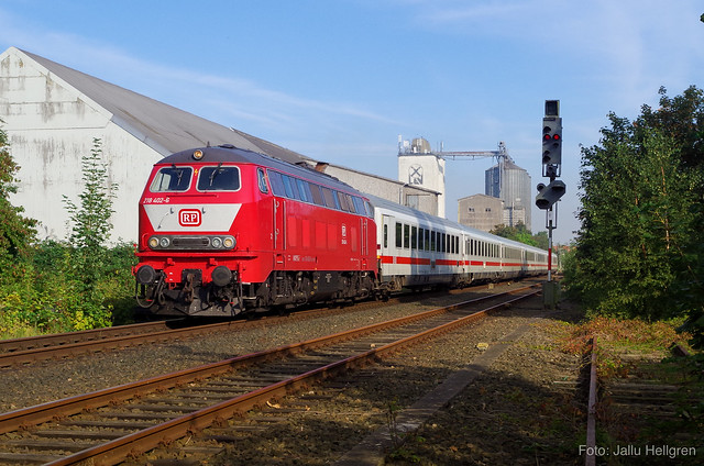 RP 218 402 mit IC 2413 | 31.08.2019 | Oldenburg (Holst)