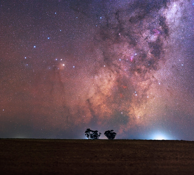Milky Way Rising at Goomalling, Western Australia