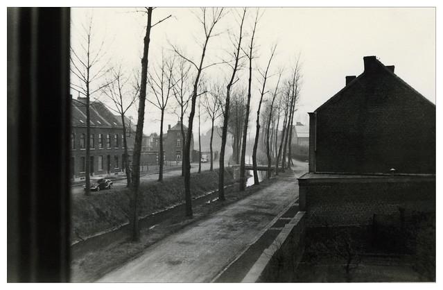 Juste après-guerre quelque part entre Houdeng-Goegnies, Manage et Ecaussinnes / Belgique - 40s