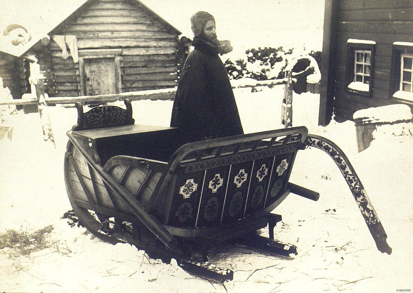 Зимний экипаж пошавни