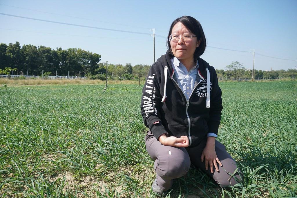徐紫珊/甜心牧場經營者,第四屆全國百大青農(攝影:王章逸)