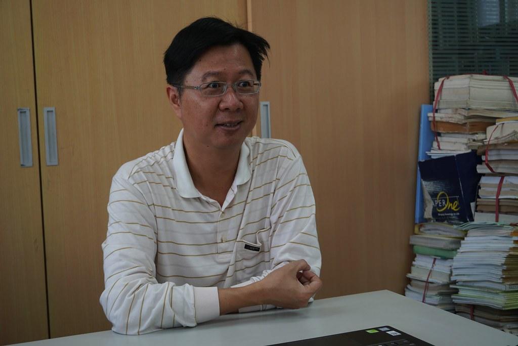 潘致遠/台南野鳥學會理事長(攝影:王章逸)