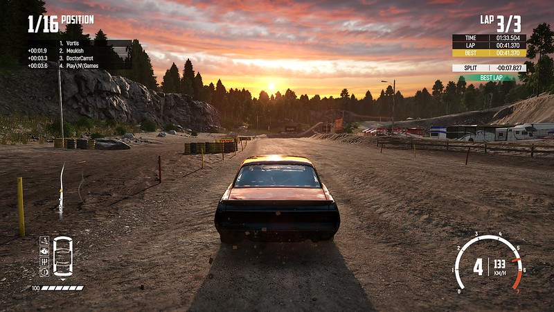 Wreckfest - Sunset