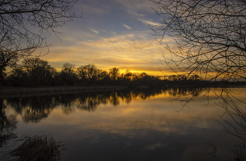 canon6d landscape nature outdoors outside golden sunset sky clouds reflection lake water cambridgeshire uk