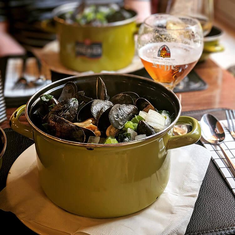 Belgium Moules-Frites