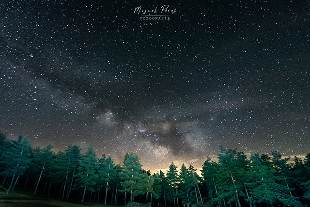 Noche de estrellas en el puerto de La Ragua
