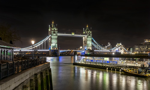 Tower Bridge from the Dock