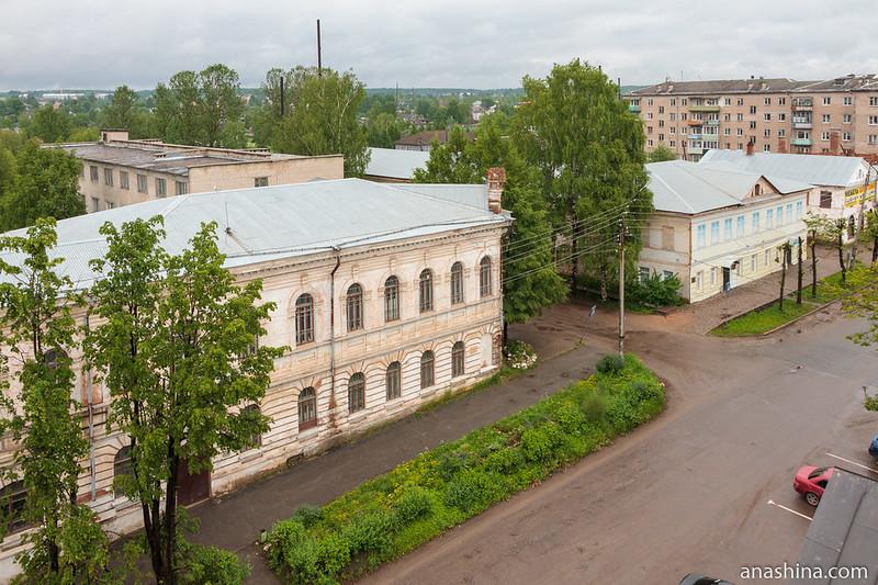 Проспект Ленина (бывший Воскресенский проспект), Вытегра