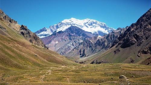 mirando al Aconcagua