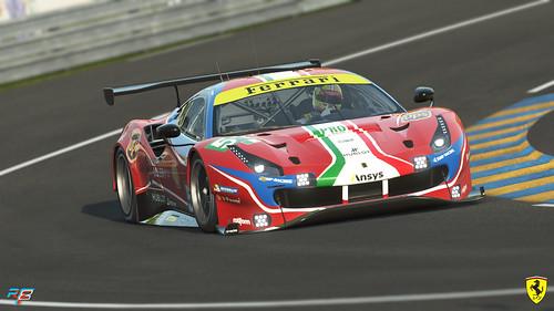 rFactor 2 Ferrari 488 GTE
