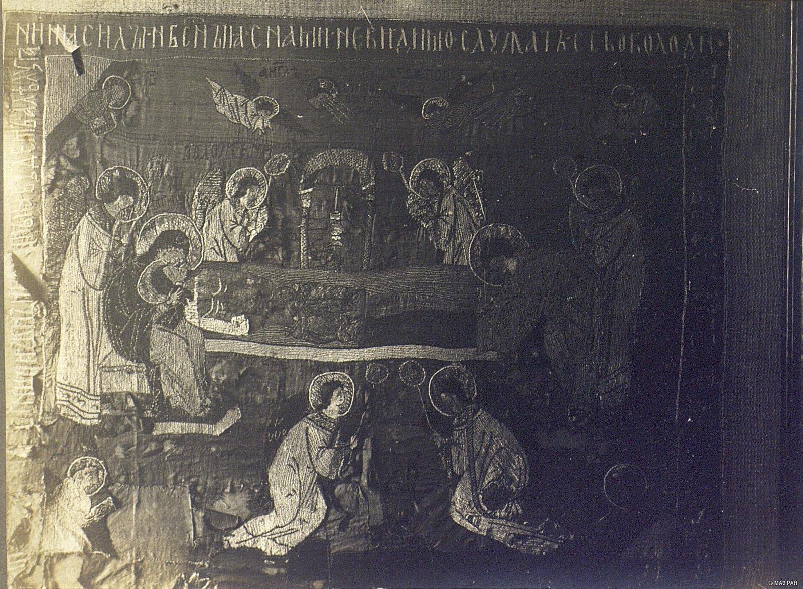 Древняя плащаница