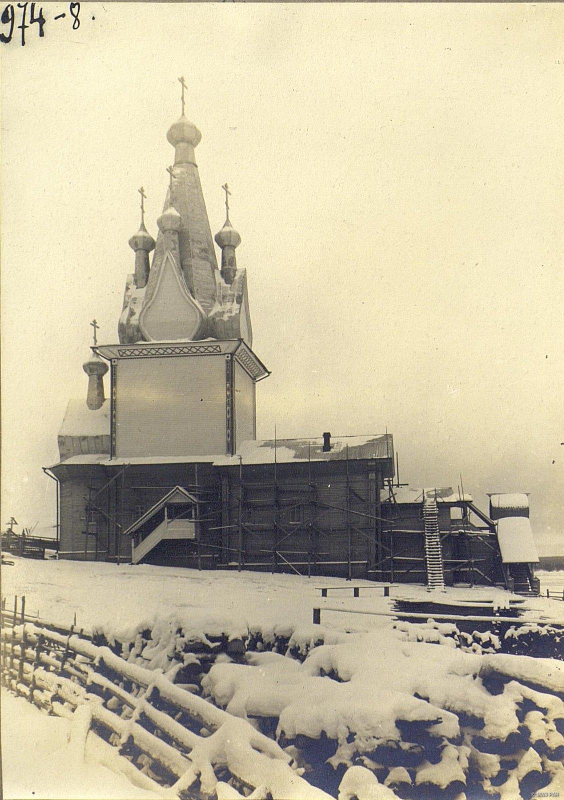 с. Юрома. Деревянная церковь в честь Михаила Архангела