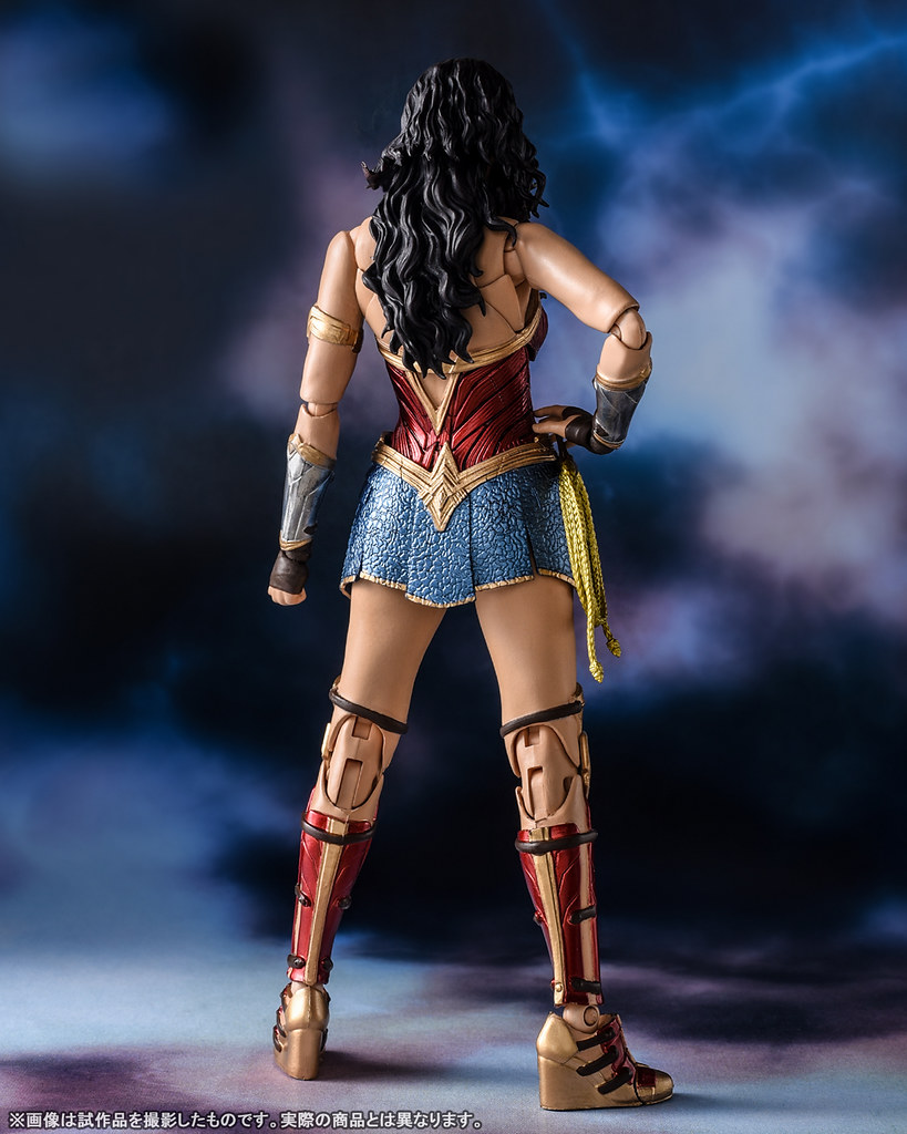 高度還原「蓋兒·加朵」面部輪廓的頭雕! S.H.Figuarts《神力女超人1984》「神力女超人(ワンダーウーマン)WW84」可動人偶 情報公開!