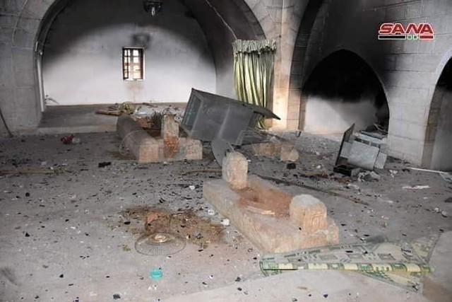 5632 Tomb of Umar Ibn Abdul Aziz destroyed in Syria 02