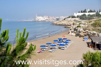 Playa Cala Balmins Sitges