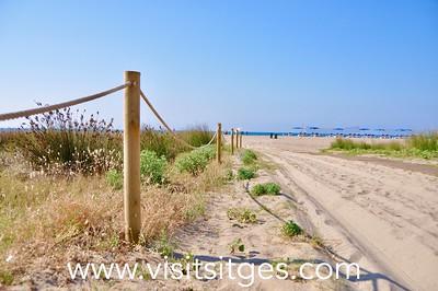Playa Les Botigues de Sitges