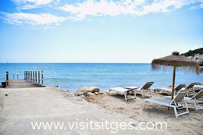 Playa Vallcarca Sitges